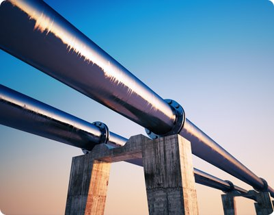 Elevated Gas Pipeline