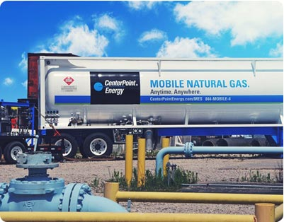 Mobile Natural Gas Truck